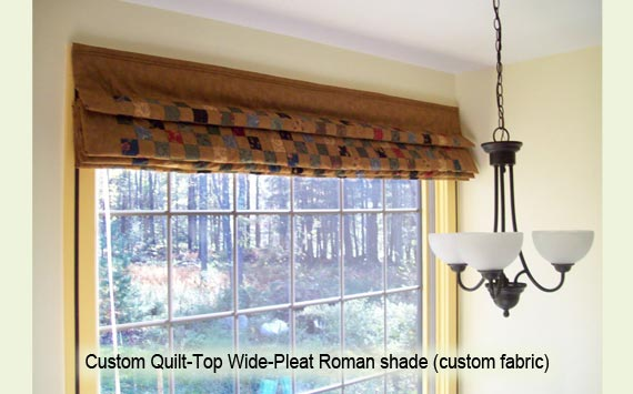 Functional Art Thermal Insulated Window Treatments Custom Quilt